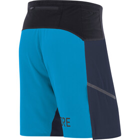 GORE WEAR R7 Shorts Herre orbit blue/dynamic cyan